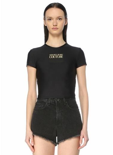 Versace Polo Yaka T-shirt Siyah